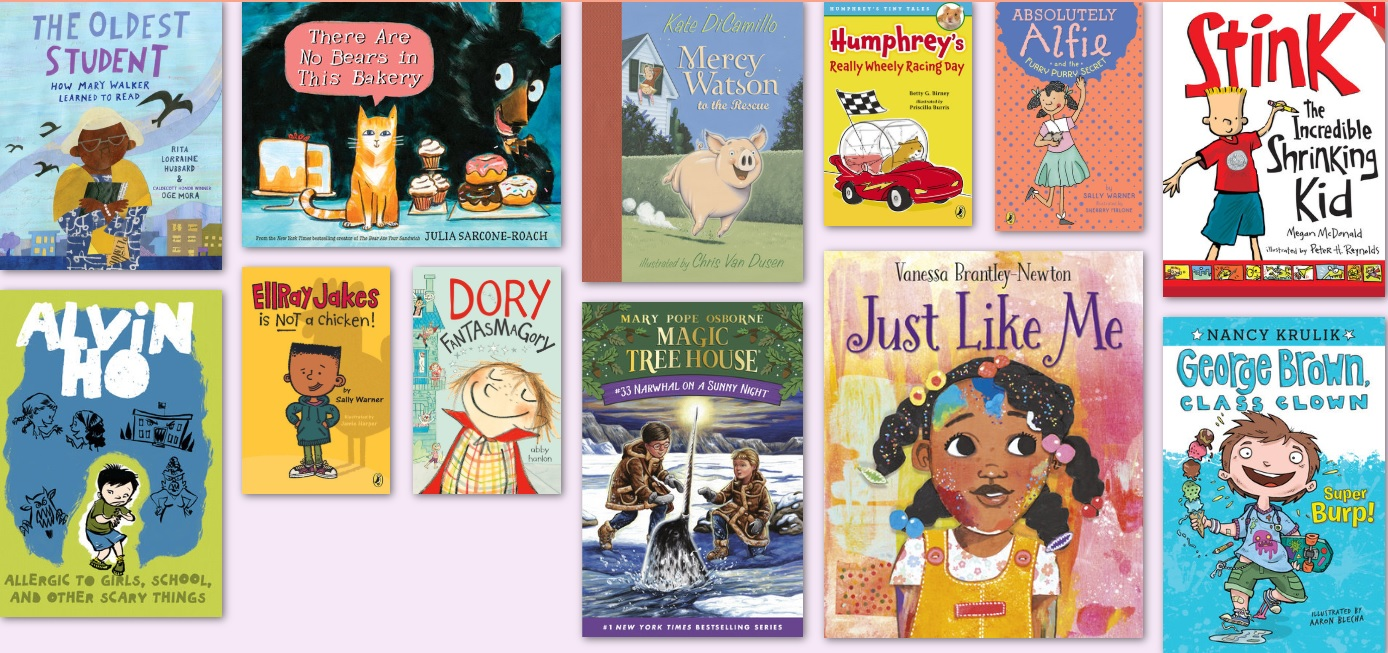 Books for 6-8 kids