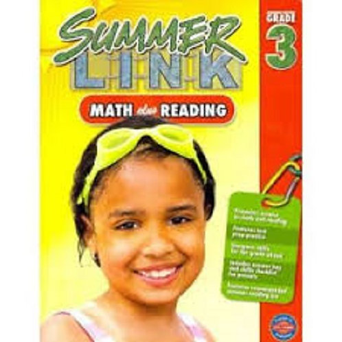 Summer Link Maths plus Reading 3