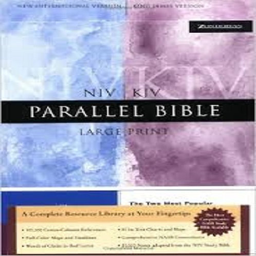 NIV/KJV Parallel Large Print  Bible