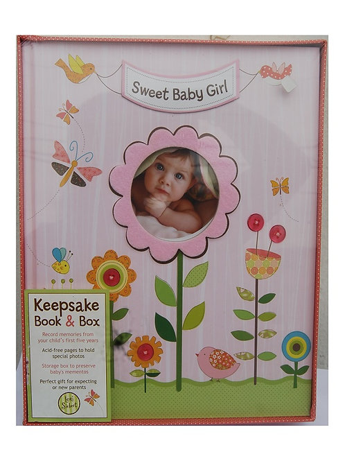 Sweet Baby Girl Keepsake Box