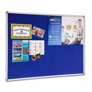 Notice Board - 3ft x 4ft - Blue