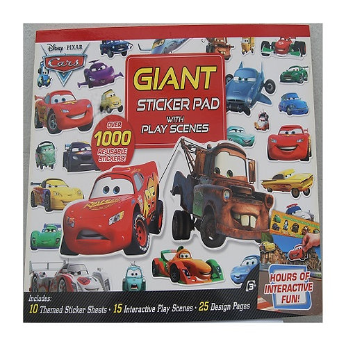 Giant Sticker Activity Pad Cars
