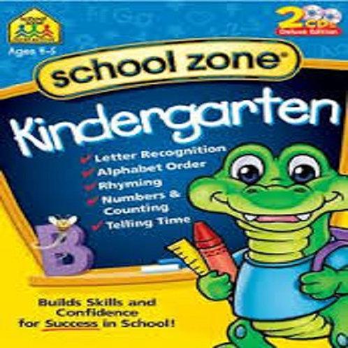 School Zone Kindergarten Win/Mac