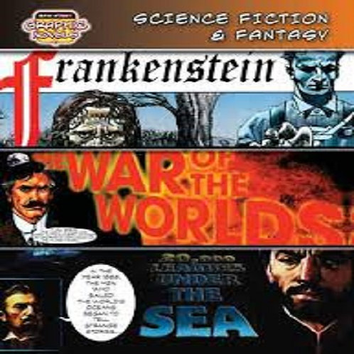 Science Fiction & Fantasy (Frankenstein/ War of the Worlds/ 20,000 Leagues