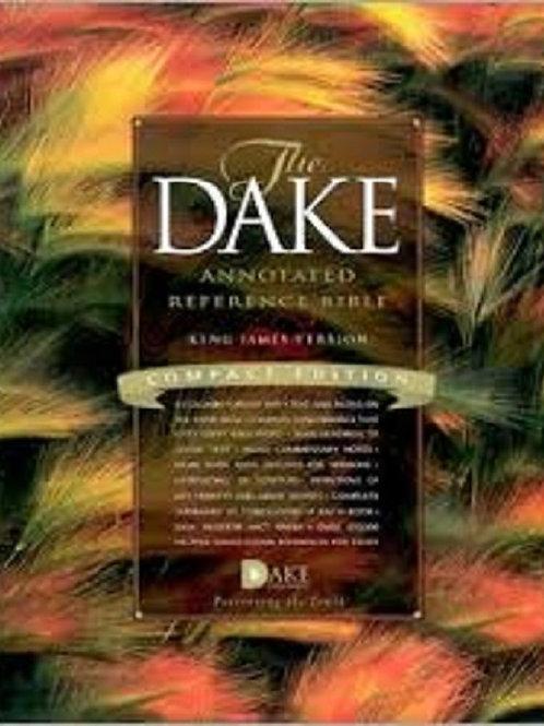 Dake Annotated Ref Bible-KJV-LP BLK