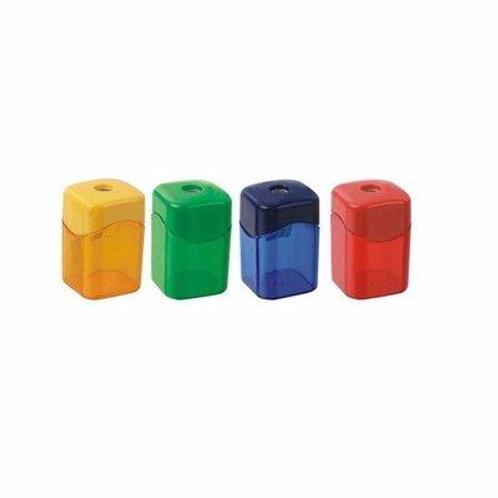 Plastic Square Sharpeners - 4 Units
