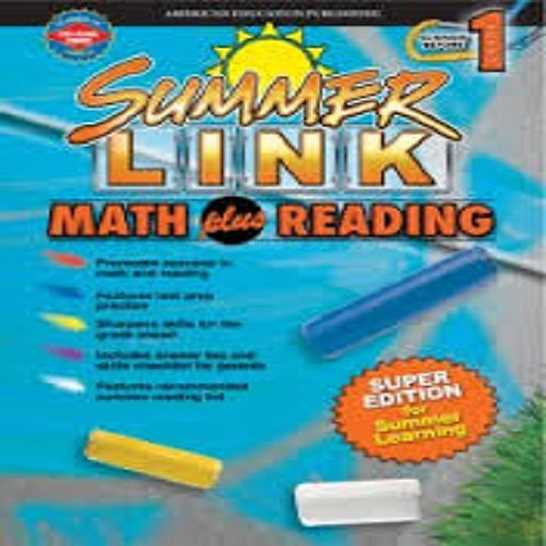 Summer Link Maths plus Reading 1