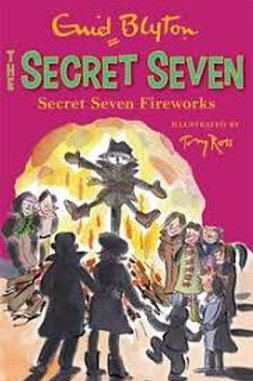 Secret Seven Fireworks (The Secret Seven #11)