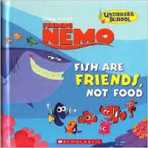 Disney Pixar Finding Nemo Fish Are Friends Not Food