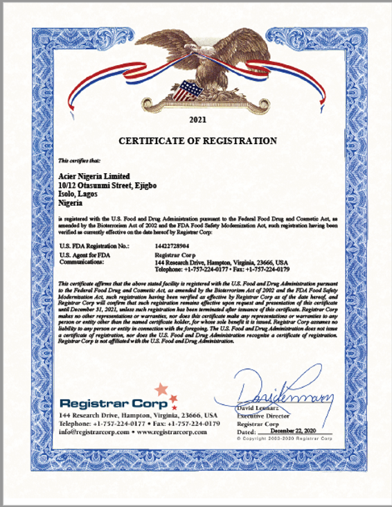 FDA Certificate 2021.png