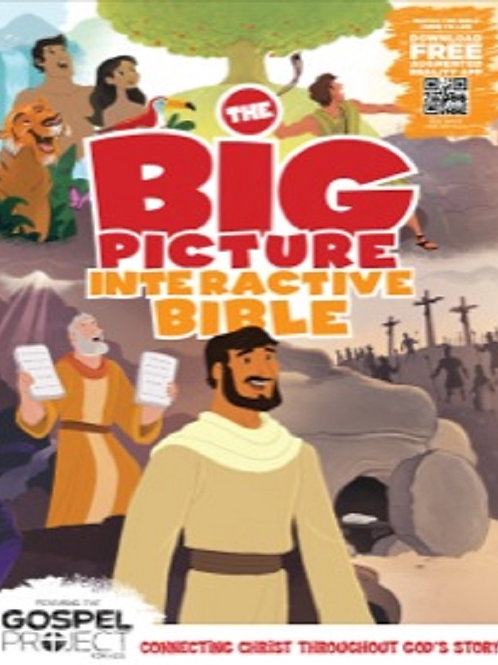 The Big Picture Interactive Bible Storybook, Hardcover
