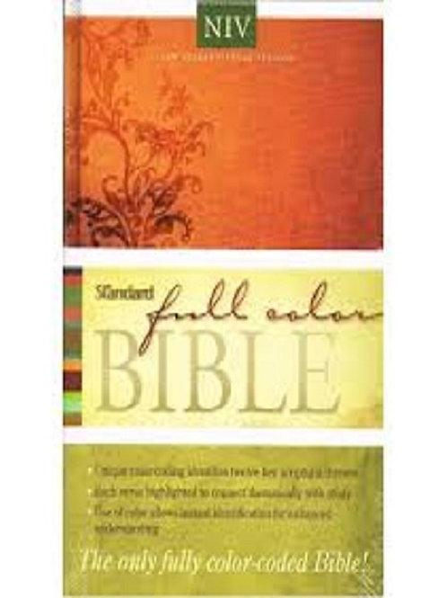 New International Version®-Hardcover (Standard Full Color Bible)