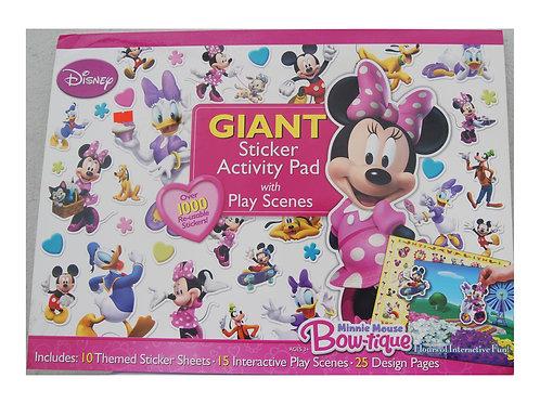 Giant Sticker Activity Pad Minnie