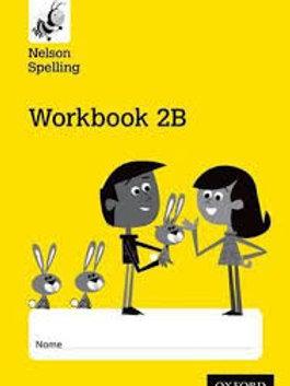 Nelson Spelling Workbook 2B