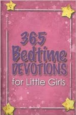 365 Bedtime Devotions for Little Girls
