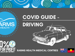 COVID GUIDANCE - Driving