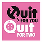 QUIT FOR TWO app