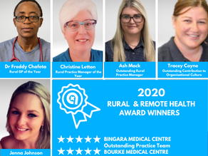 2020 Rural and Remote Health Awards