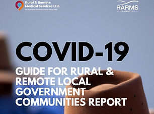 COVID-19 GUIDE FOR RURAL & remote LOCAL