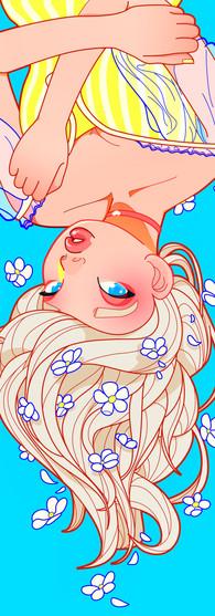 Upside Down Illustration