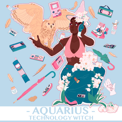 Horoscope Witch - Aquarius