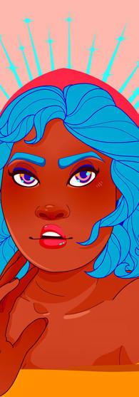 Goddess Illustration