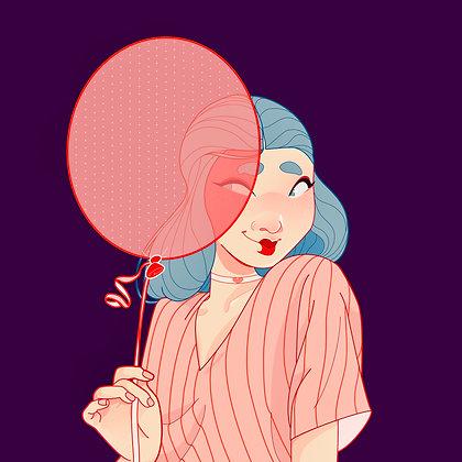 Fine Art Print - Balloon