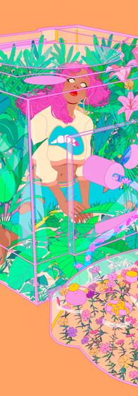 Gamecube Illustration