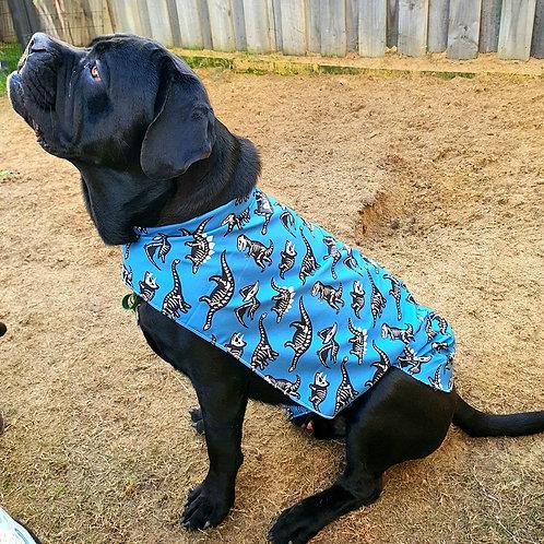 Weatherproof Dinosaur Dog Jacket