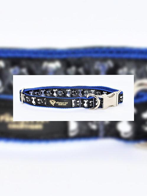 I Love My Doggo Blue 25mm Collar