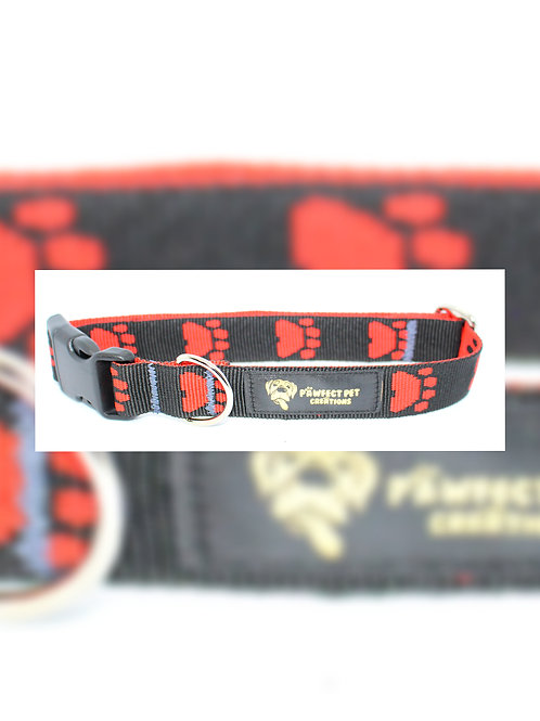 Red Paws 25mm Collar