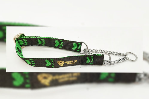 Green Paws15mm Martingale