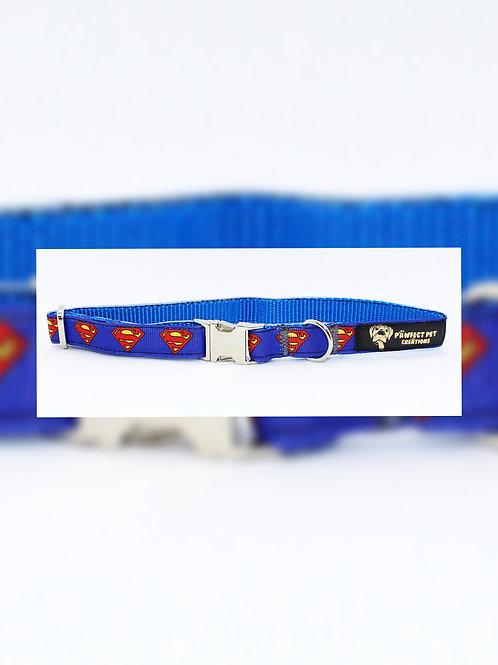 Superman Logo 15mm Collar