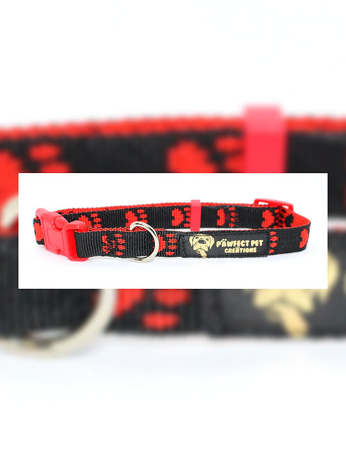 Red Paws 15mm Collar