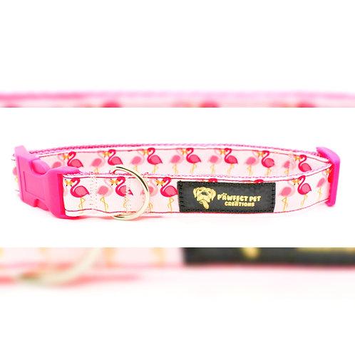 Pink Flamingo 25mm Collar
