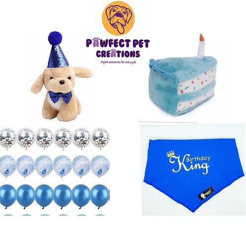 Boys Birthday Pawty Set