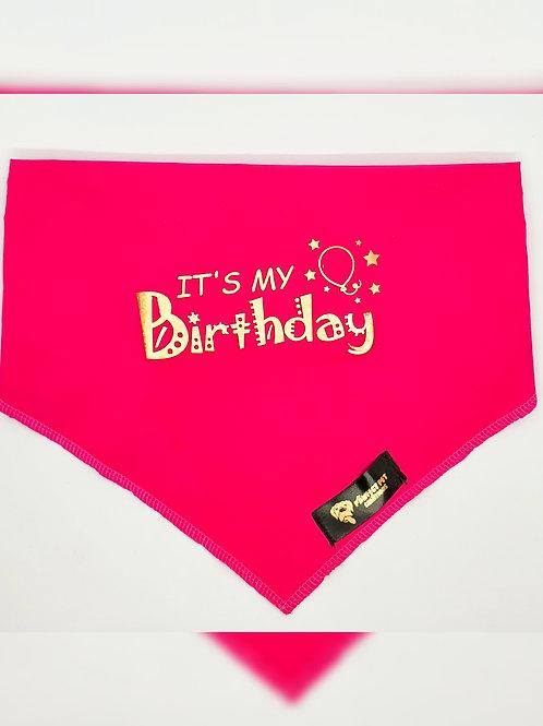Its My Birthday Bandana