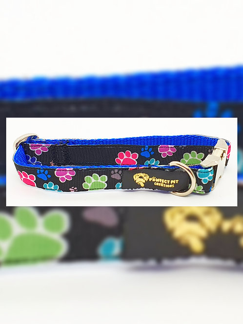 Blue Happy Paws 15mm Collar