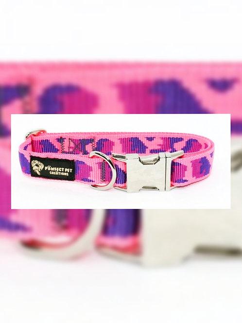 Pink Camo 25mm Collar
