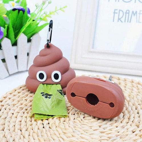 Poop Emoji Bag Dispenser