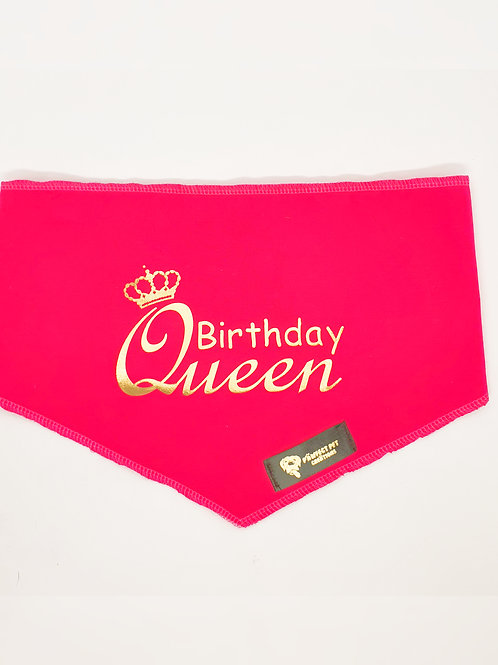 Birthday Queen Bandana