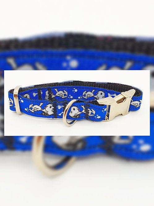 Blue Snoopy 15mm Collar