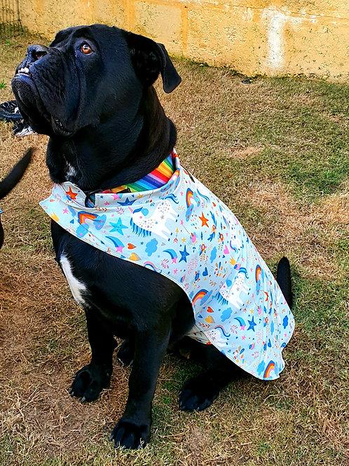 Weatherproof Unicorn Dog Jacket