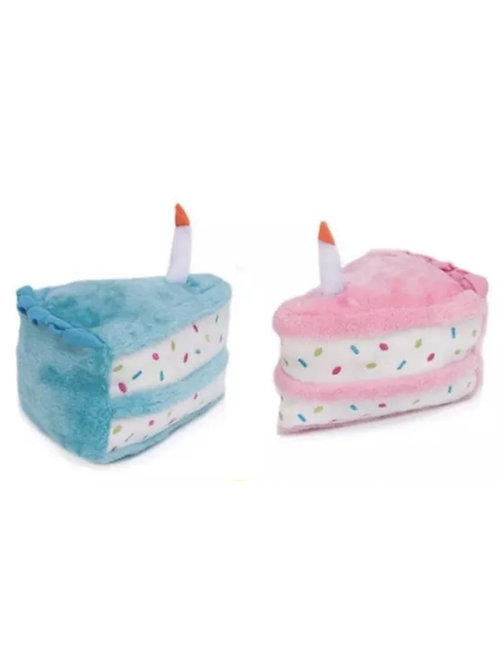 Cake Plush with Squeaker