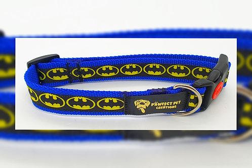 Blue Batman 25mm Collar