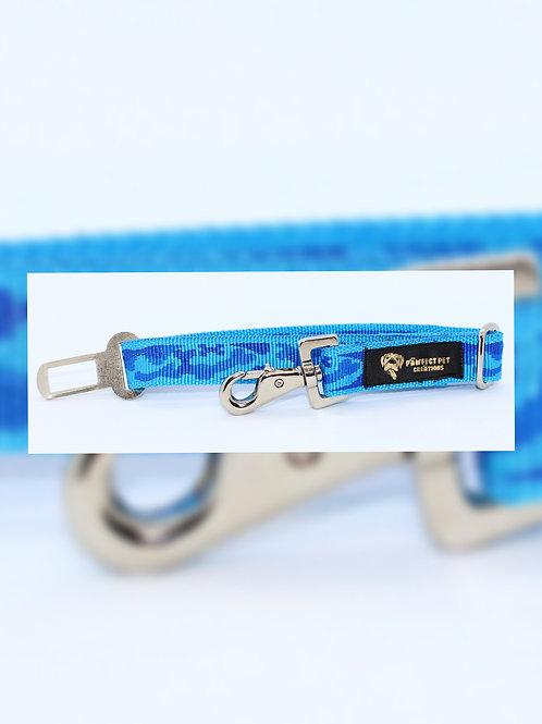 Blue Camo Car Buckle