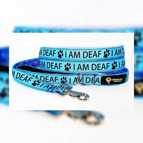 I AM DEAF 25mm Clip Lead