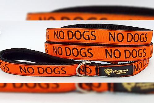 'No Dogs' Slip Lead