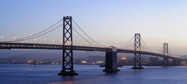 サンフランシスコ - オークランドベイブリッジ