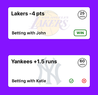 bet with friends app, bet with friends, bet on sports app, mobile wager, wager, social bet, play betting, bet tracker, online betting app, bet prediction app, bet on tv shows, bets for friends, friendly bets